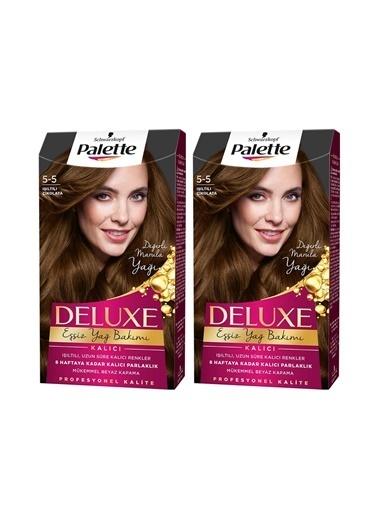 Palette Palette Deluxe 5-5 Işıltılı Çikolata X 2 Paket Renkli